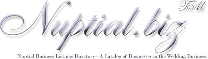 Nuptial.biz - Nuptial Business Listings Directory - A Catalog of Businesses in the Wedding Business